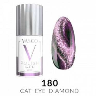 Lakier hybrydowy VASCO DIAMOND CAT EYE - 180