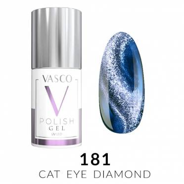 Lakier hybrydowy VASCO DIAMOND CAT EYE - 181