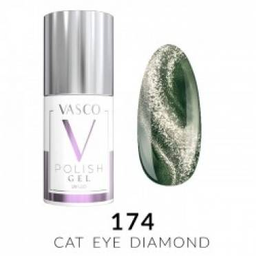 Lakier hybrydowy VASCO DIAMOND CAT EYE - 174