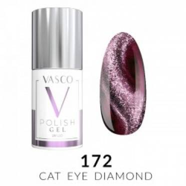 Lakier hybrydowy VASCO DIAMOND CAT EYE - 172