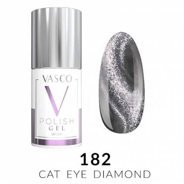 Lakier hybrydowy VASCO DIAMOND CAT EYE - 182