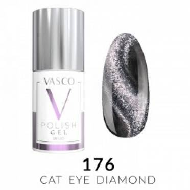 Lakier hybrydowy VASCO DIAMOND CAT EYE - 176