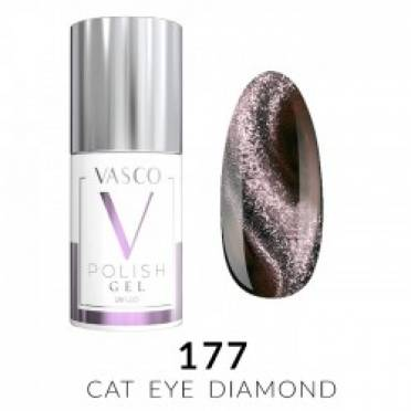 Lakier hybrydowy VASCO DIAMOND CAT EYE - 177