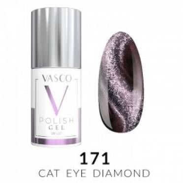Lakier hybrydowy VASCO DIAMOND CAT EYE - 171
